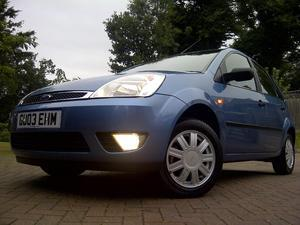 Ford Fiesta 1.6 Ghia 5dr - Just  Miles (yes, three