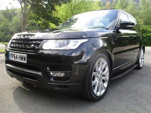 Land Rover Range Rover Sport Sdv6 Hse Dynamic Auto