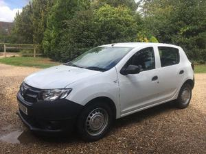DACIA SANDERO FOR SALE! AVAILABLE NOW! LOW MILEAGE! GREAT