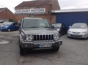 Jeep Commander 3.0 CRD Limited Auto **BRAND NEW ALLOY WHEELS