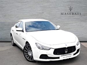 Maserati Ghibli V6 4DR AUTO Semi-Automatic