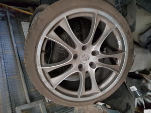 Porsche cayenne alloys wheels
