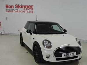Mini Hatch 1.5 COOPER 3d 134 BHP with 16in Alloy Wheels