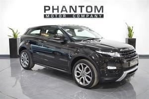 Land Rover Range Rover Evoque 2.0 Si4 Dynamic 4X4 3dr Auto