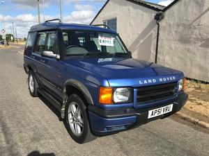 Land Rover Discovery 2.5 TD5 GS 5dr (7 Seats) Auto