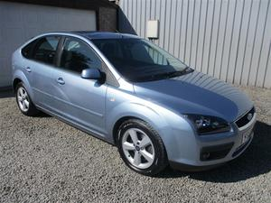 Ford Focus 1.8 TDCi Zetec 5dr [Euro 4] [Climate Pack]