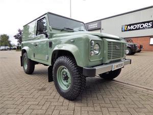 Land Rover Defender 90 Heritage Hard Top TDCi. Only 9 miles