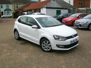 Volkswagen Polo 1.2 TDI Match,£20 tax,54k,Aircon,Alloys.