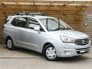 Ssangyong Turismo 2.0 S 5dr FULL SSANGYONG SERVICE HISTORY
