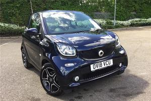 Smart Fortwo 0.9 Turbo Edition Blue 2dr Auto City-Car