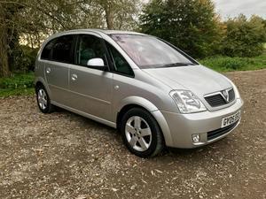 Vauxhall Meriva  Seat MPV   Only 70k Miles