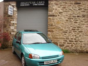 Toyota Starlet 1.3 S 3DR AUTOMATIC  MILES ONE LADY