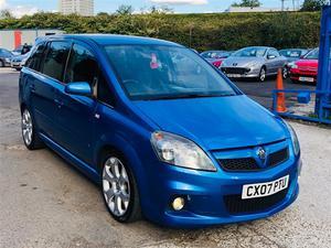 Vauxhall Zafira 2.0 i Turbo 16v VXR 5dr