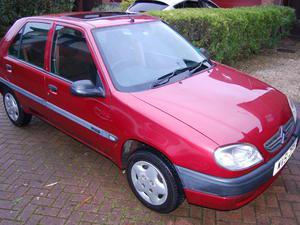 Citroen Saxo  door, 1.1 petrol, one owner, FSH, 69K