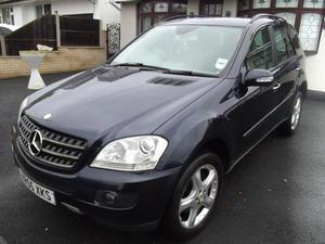 MERCEDES ML 320 SE  TURBO DIESEL AUTOMATIC WITH