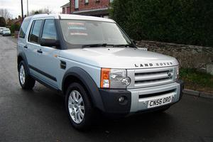 Land Rover Discovery 3 2.7 TDV6 SE TURBO DIESEL AUTOMATIC 7