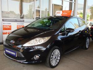 Ford Fiesta TITANIUM Automatic 3dr Finished in Panther Black