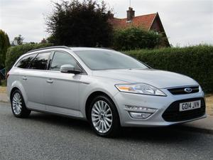 Ford Mondeo 2.0 TDCI ZETEC BUSINESS EDITION 5DR TURBO DIESEL