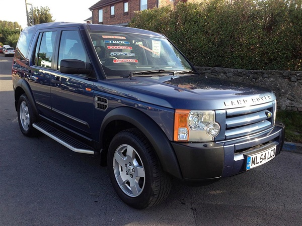 Land Rover Discovery 3 2.7 TDV6 S TURBO DIESEL AUTOMATIC 7