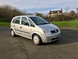Vauxhall Meriva )   Only 74k Miles!!!   Long
