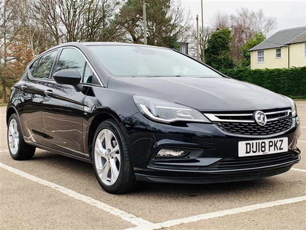 Vauxhall Astra 1.4 I 16V TURBO SRI NAV HATCHBACK 5DR DRIVER