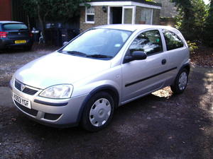 VAUXHALL CORSA 1.0 LIFE,GENUINE  WITH FSH & LONG MOT in