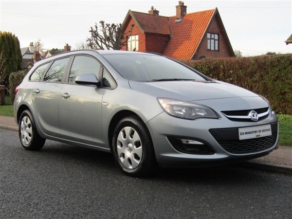 Vauxhall Astra ES 1.3 CDTI ECOFLEX 5DR TURBO DIESEL ESTATE