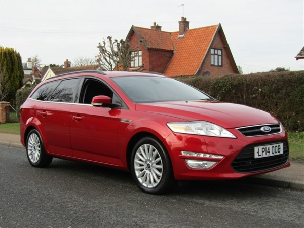 Ford Mondeo 2.0 TDCI ZETEC BUSINESS EDITION TURBO DIESEL 5DR
