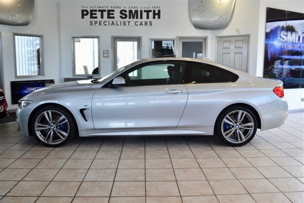 BMW 4 Series 2.0 D M SPORT AUTO FULL SERVICE HISTORY
