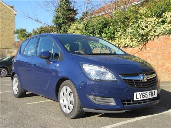 Vauxhall Meriva 1.4 I 16V TURBO EXCLUSIV 5DR | 7.9% APR