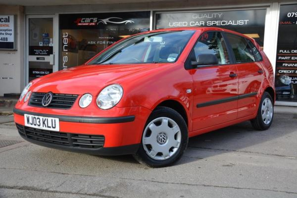 Volkswagen Polo 1.4 S 5dr (a/c)