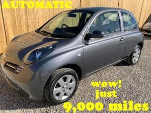 Nissan Micra Automatic **  miles ** in Robertsbridge |