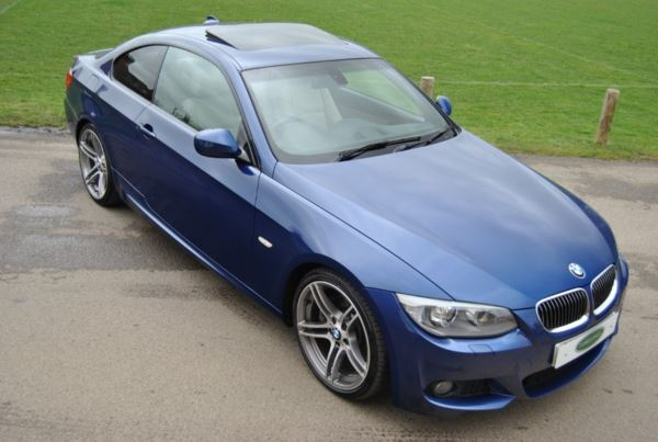 BMW 3 Series M Sport Coupe  Model Auto Coupe