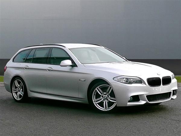 BMW 5 Series 520d M Sport 5dr Step Auto [Start Stop]