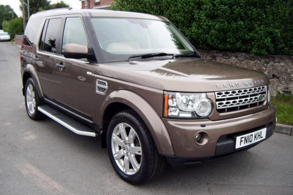 Land Rover Discovery 4 3.0 TDV6 XS TURBO DIESEL AUTOMATIC -