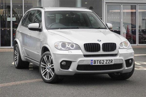 BMW X5 3.0TD xDrive30d M Sport   Memory Seats   Adaptive