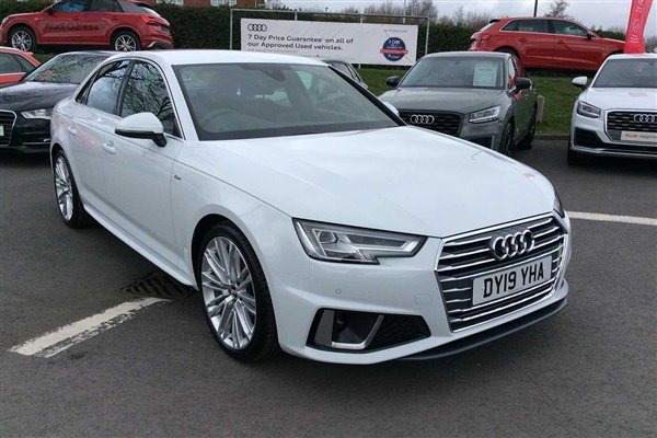 Audi A4 S line 35 TFSI 150 PS 6-speed