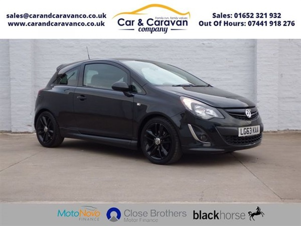Vauxhall Corsa 1.4 BLACK EDITION 3d 118 BHP