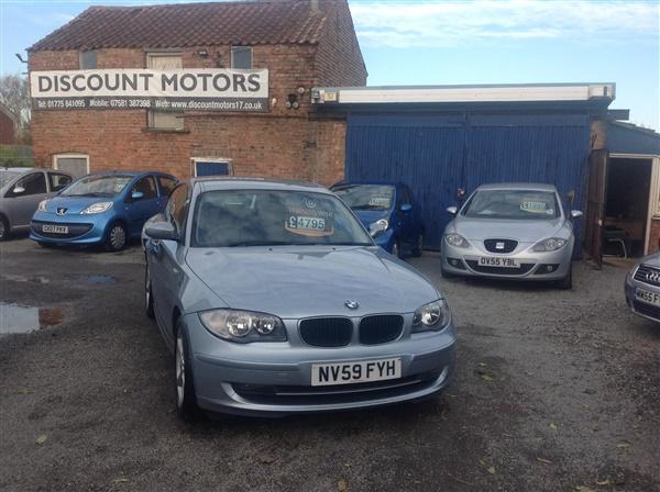 BMW 1 Series 116i [2.0] Sport **LOW MILES - GOOD HISTORY**