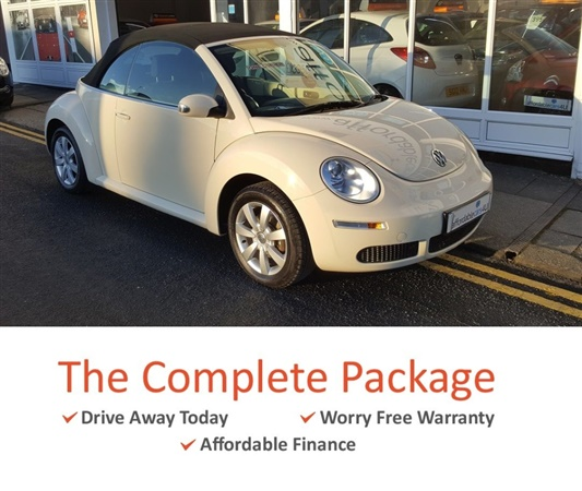 Volkswagen Beetle 1.6 Luna 2dr Convertible**1 Owner**Service
