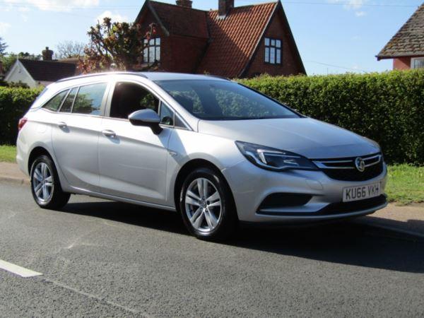 Vauxhall Astra 1.6 CDTi 16V TECH LINE NAV 5DR TURBO DIESEL