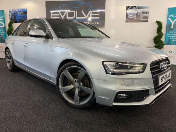 Audi A4 2.0 TDI S LINE BLACK EDITION 4d AUTO 141 BHP
