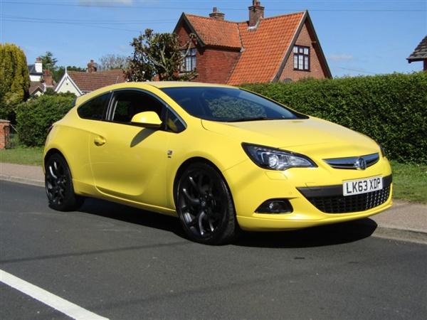Vauxhall GTC 1.7 CDTi 16V SRi 3DR TURBO DIESEL COUPE **