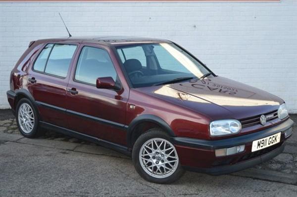 Volkswagen Golf 2.8 VR6 5d 172 BHP