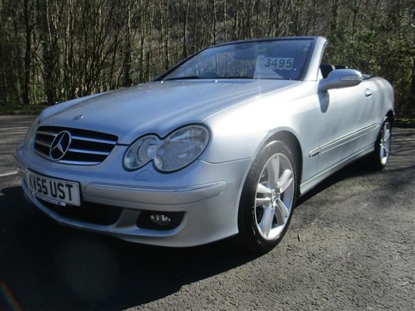 Mercedes-Benz CLK 200 k Avantgarde Auto