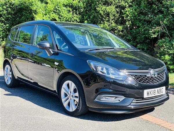 Vauxhall Zafira 1.4 I TURBO 16V SRI NAV 5DR   7.9% APR