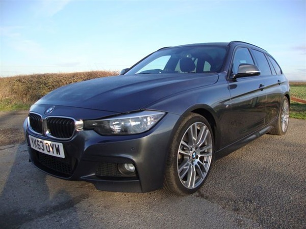 BMW 3 Series D M SPORT TOURING 5d AUTO 255 BHP