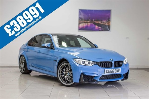 BMW M3 3.0 M3 COMPETITION PACKAGE 4d AUTO 444 BHP