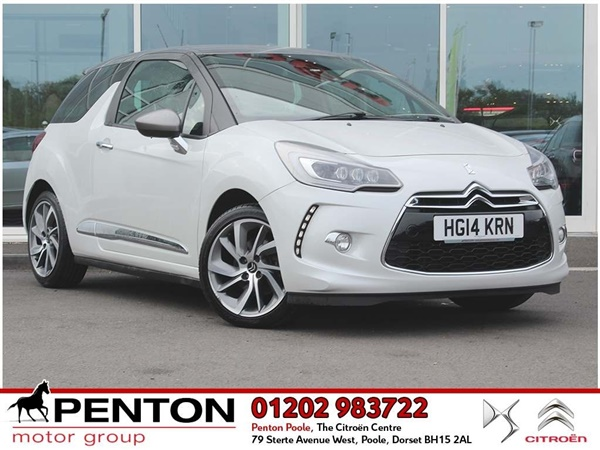 Citroen DS3 1.6 THP DStyle (Techno Pack) (s/s) 3dr