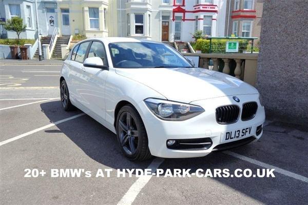 BMW 1 Series 118d Sport 5dr